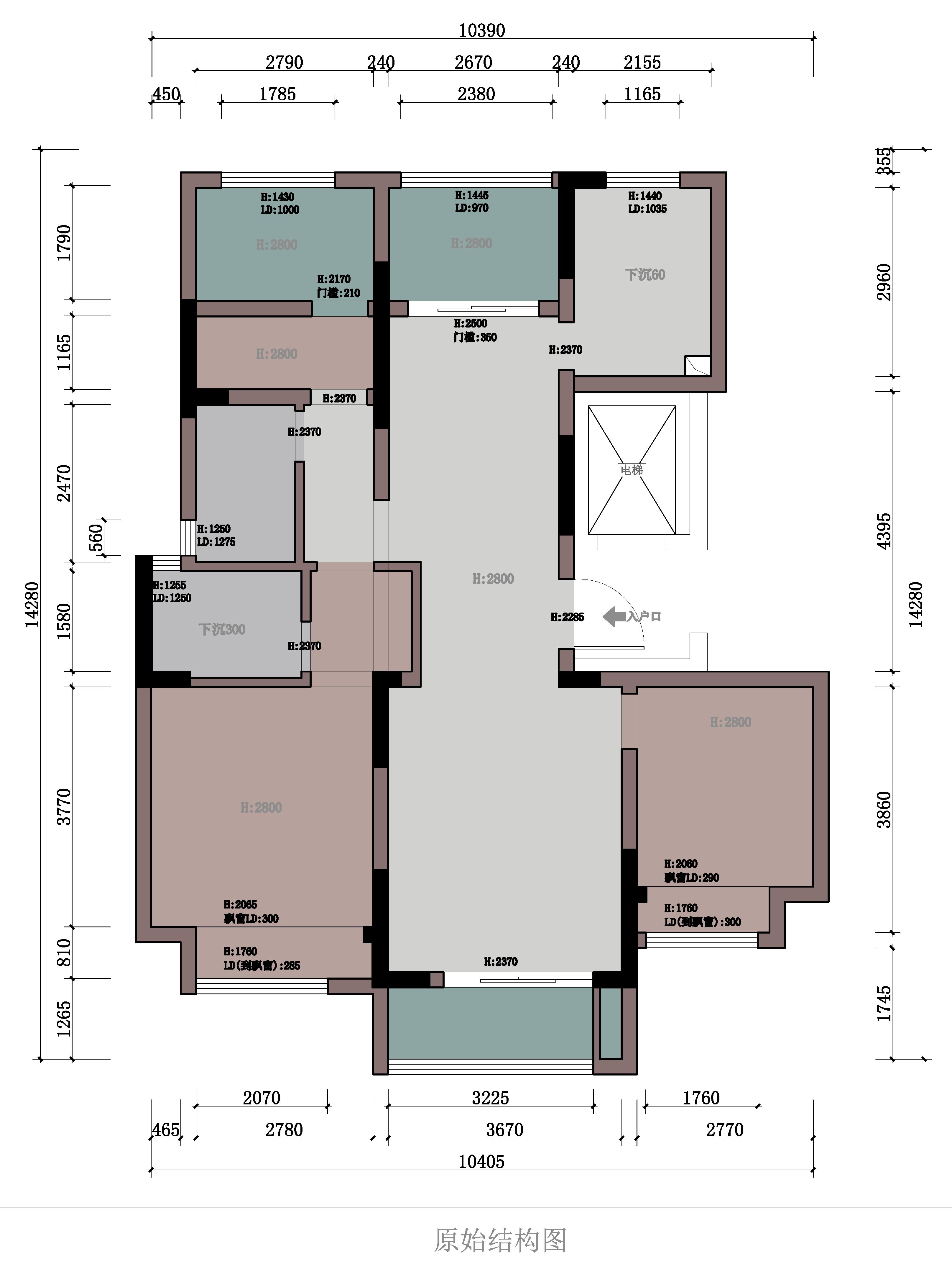 128平-现代简约-建发独墅湾装修效果图装修设计理念