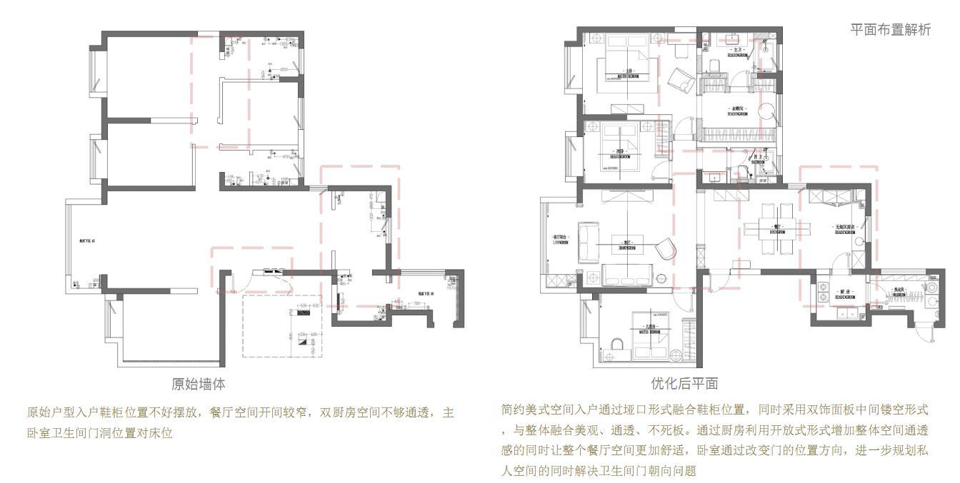 万达天樾 简约美式装修实景图 168平米 设计师苏宏博装修设计理念