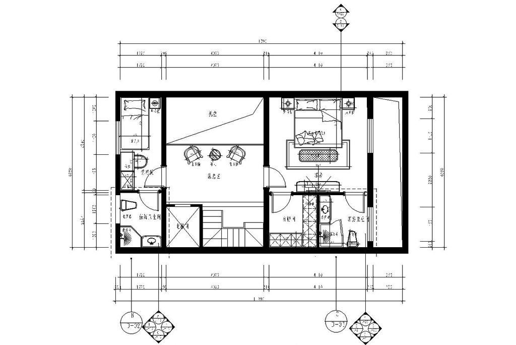 滟澜新宸长桥墅-现代简约-450㎡-获奖设计案例装修设计理念