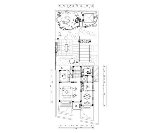 488平-美式偏新中式-金屋山庄装修效果图装修设计理念