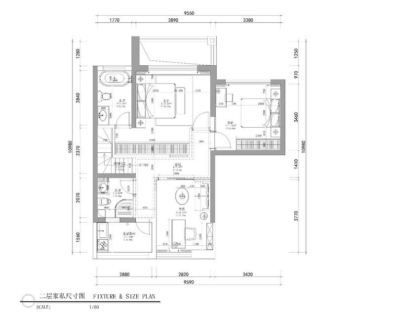 深圳141平米北欧装修效果图,这设计美呆了