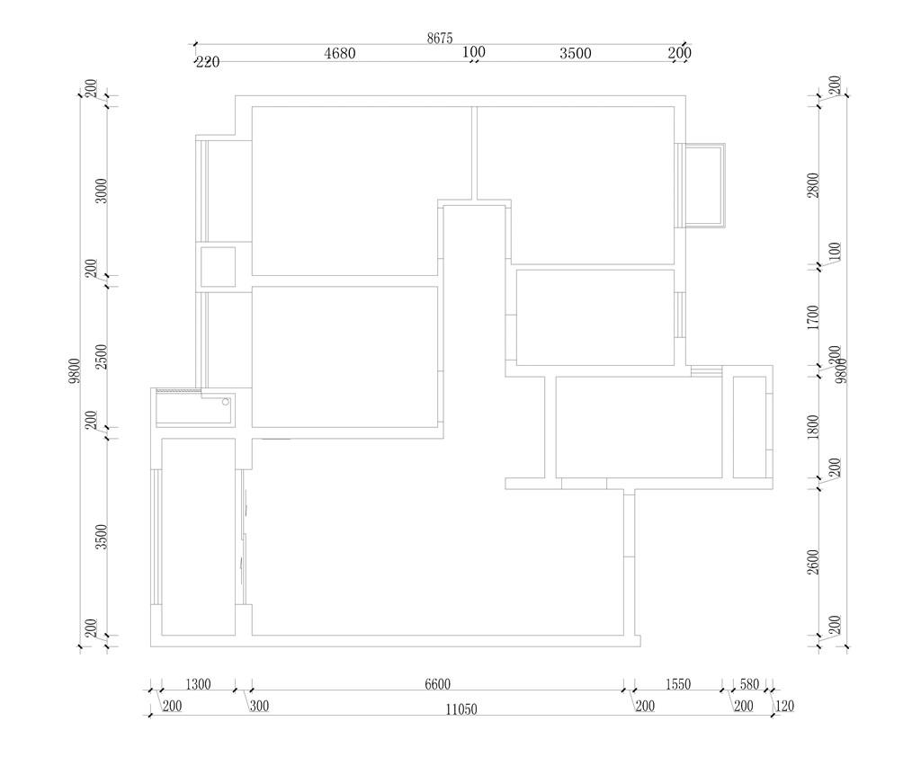 振华样板间-后现代风格-120平米装修设计理念