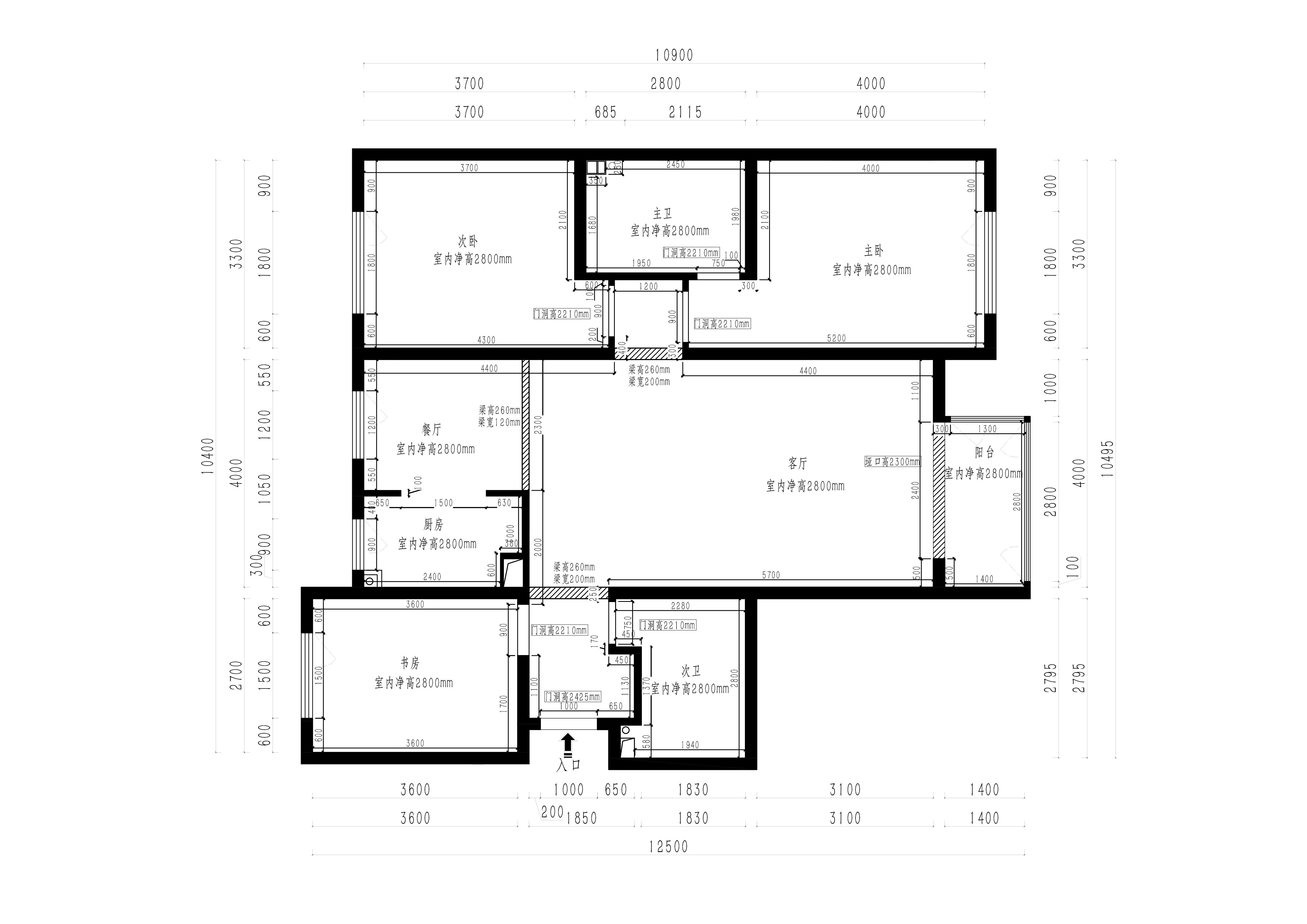 中正亲贤们 新中式风格装修效果图 140平三室两厅装修案例装修设计理念