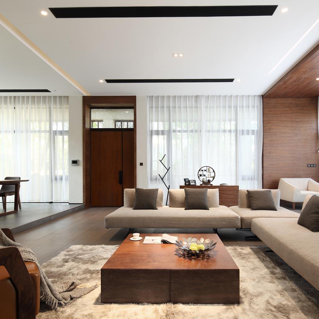560平-现代简约-独墅西岸-样板实景图装修设计理念