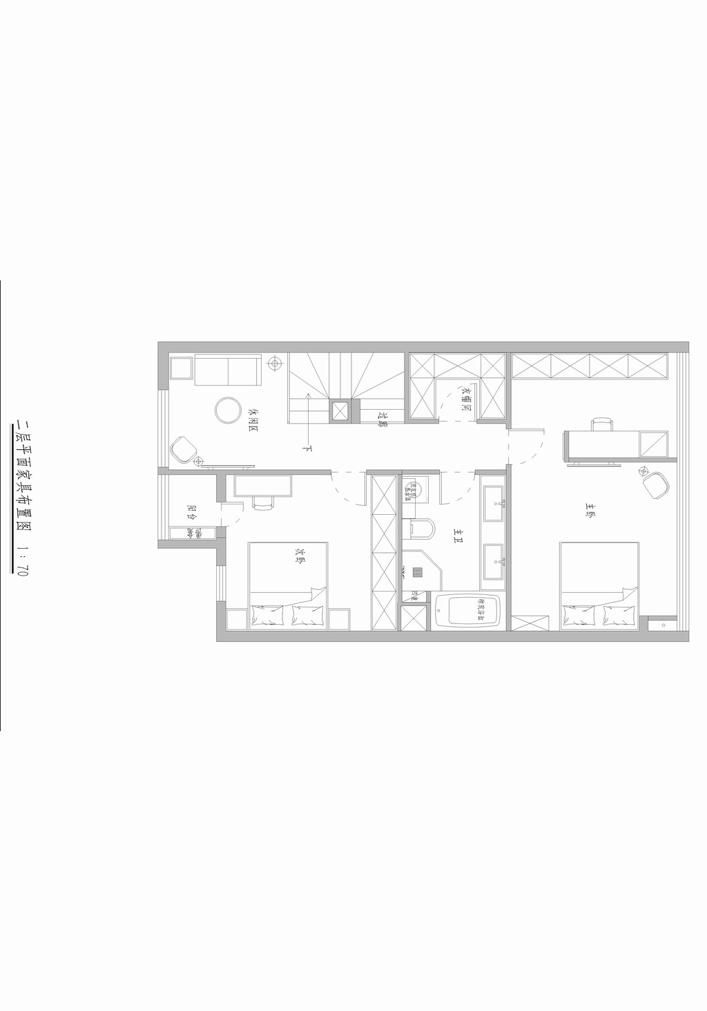 三空间-现代新极简-120平米装修设计理念