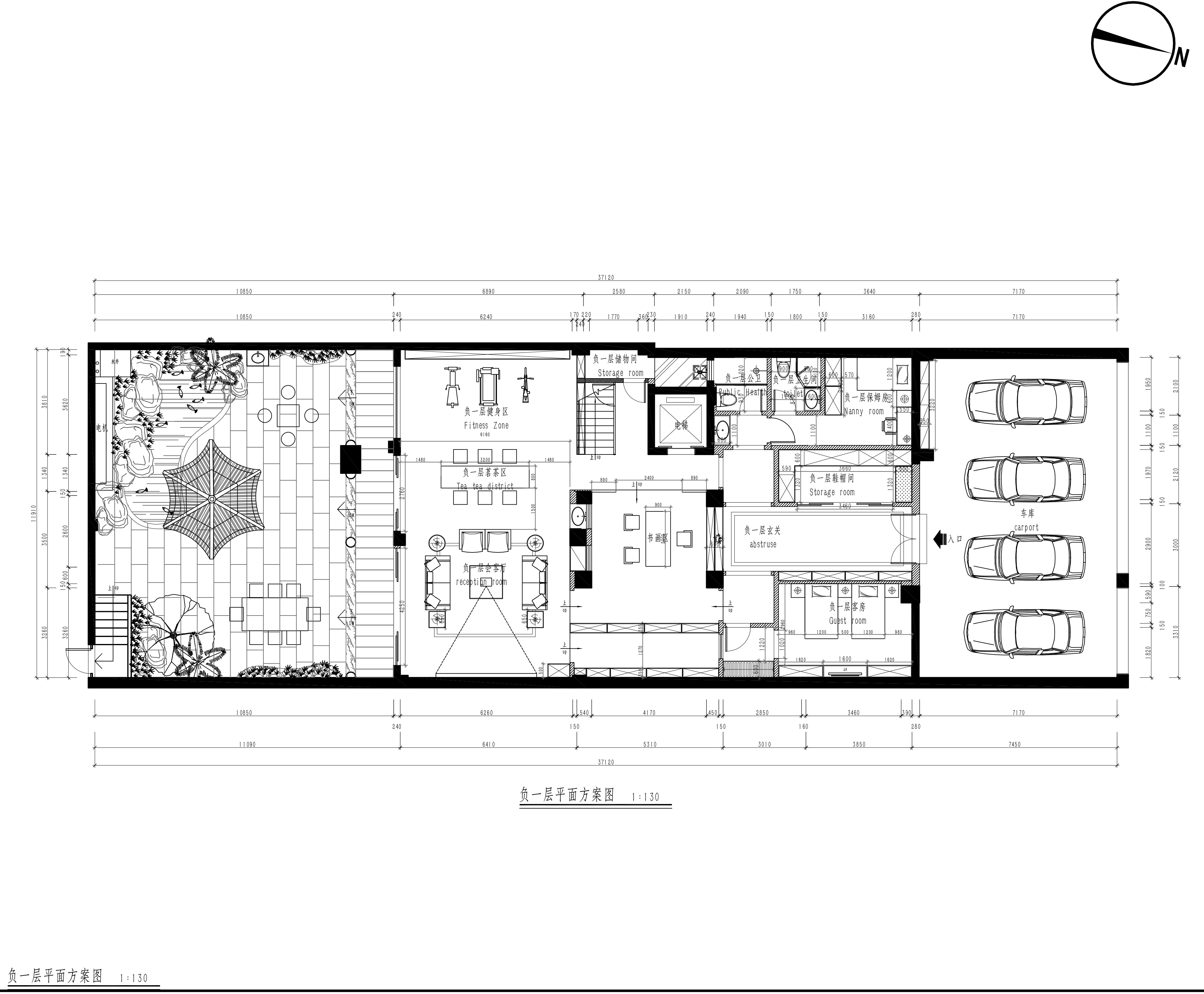 雍景湾别墅680平米简欧混搭风格装修效果图装修设计理念