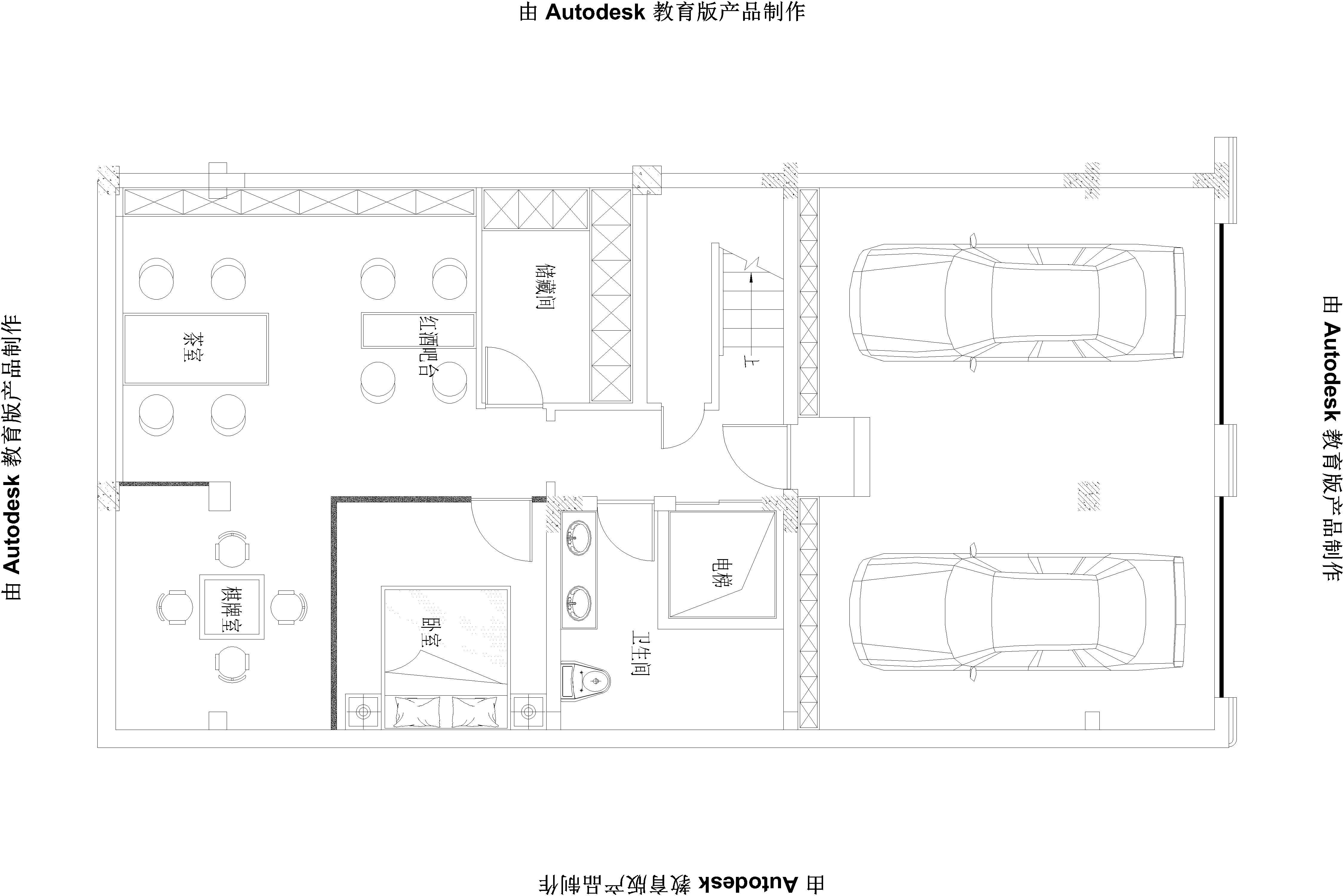 奥特莱斯-简美风格-300平米装修设计理念