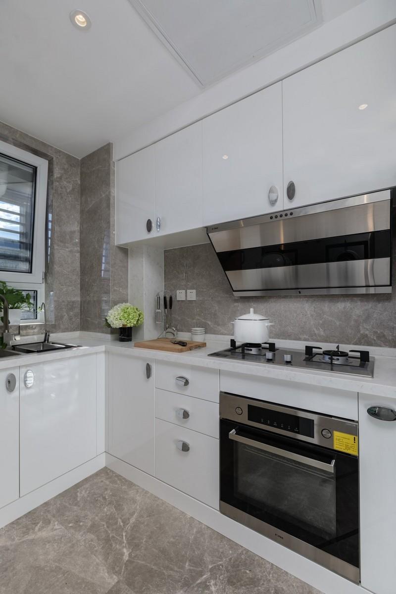 95平米小三室装修-厨房