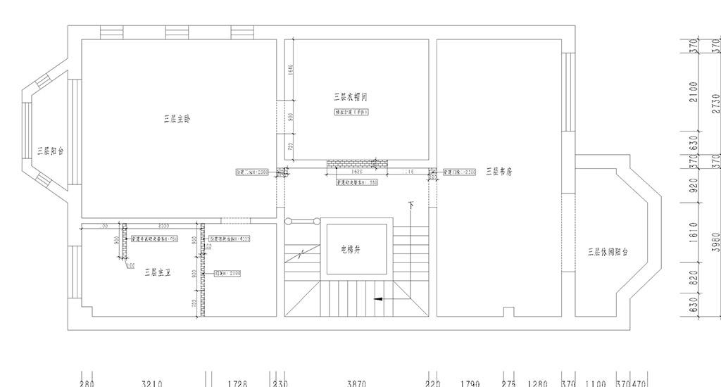 中星家园 新中式 280平装修设计理念