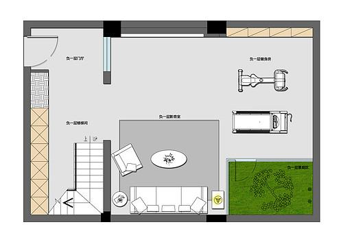 336平-新中式-中航樾园装修效果图装修设计理念