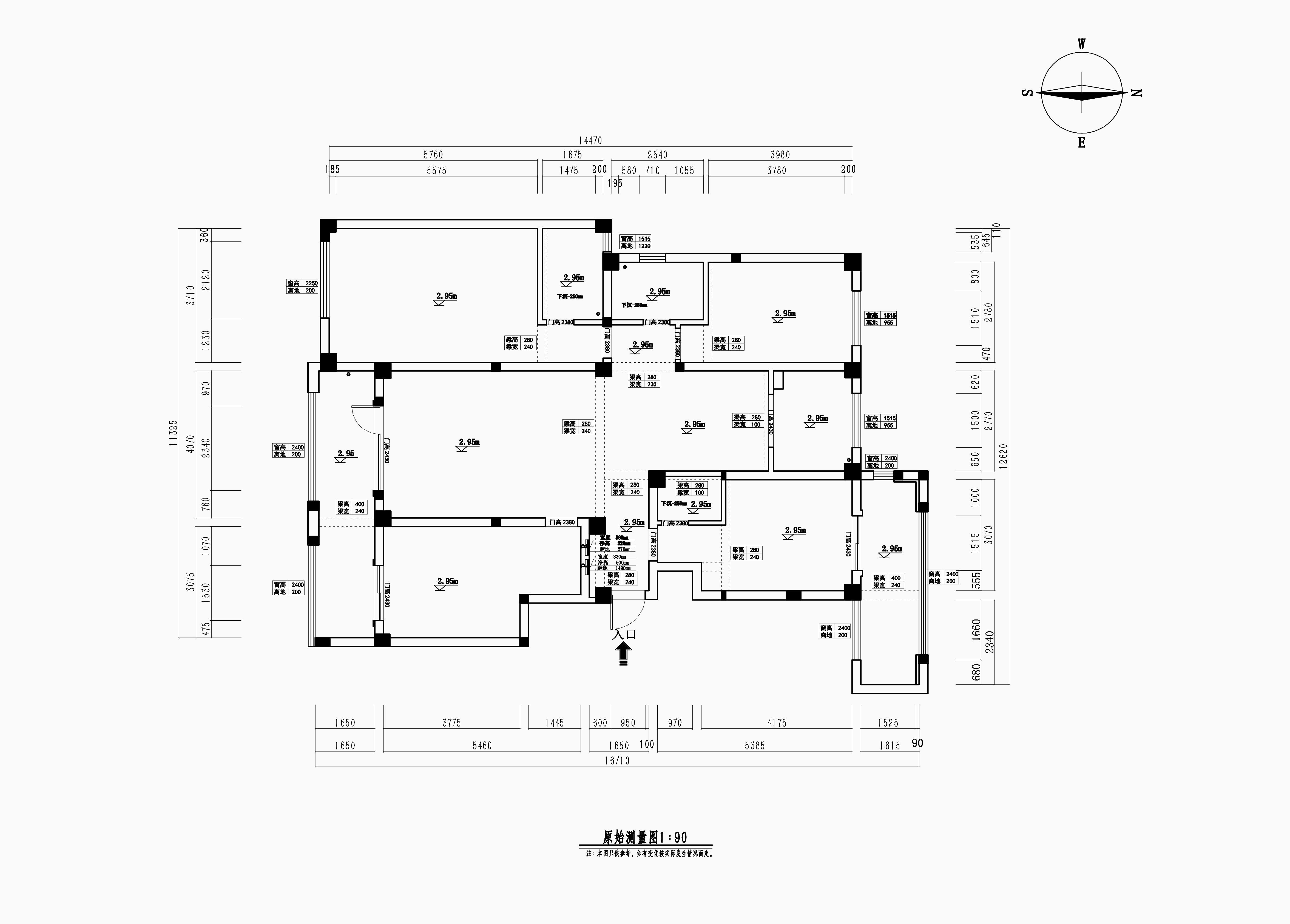 昆玉九里180㎡欧式古典风格装修效果图装修设计理念