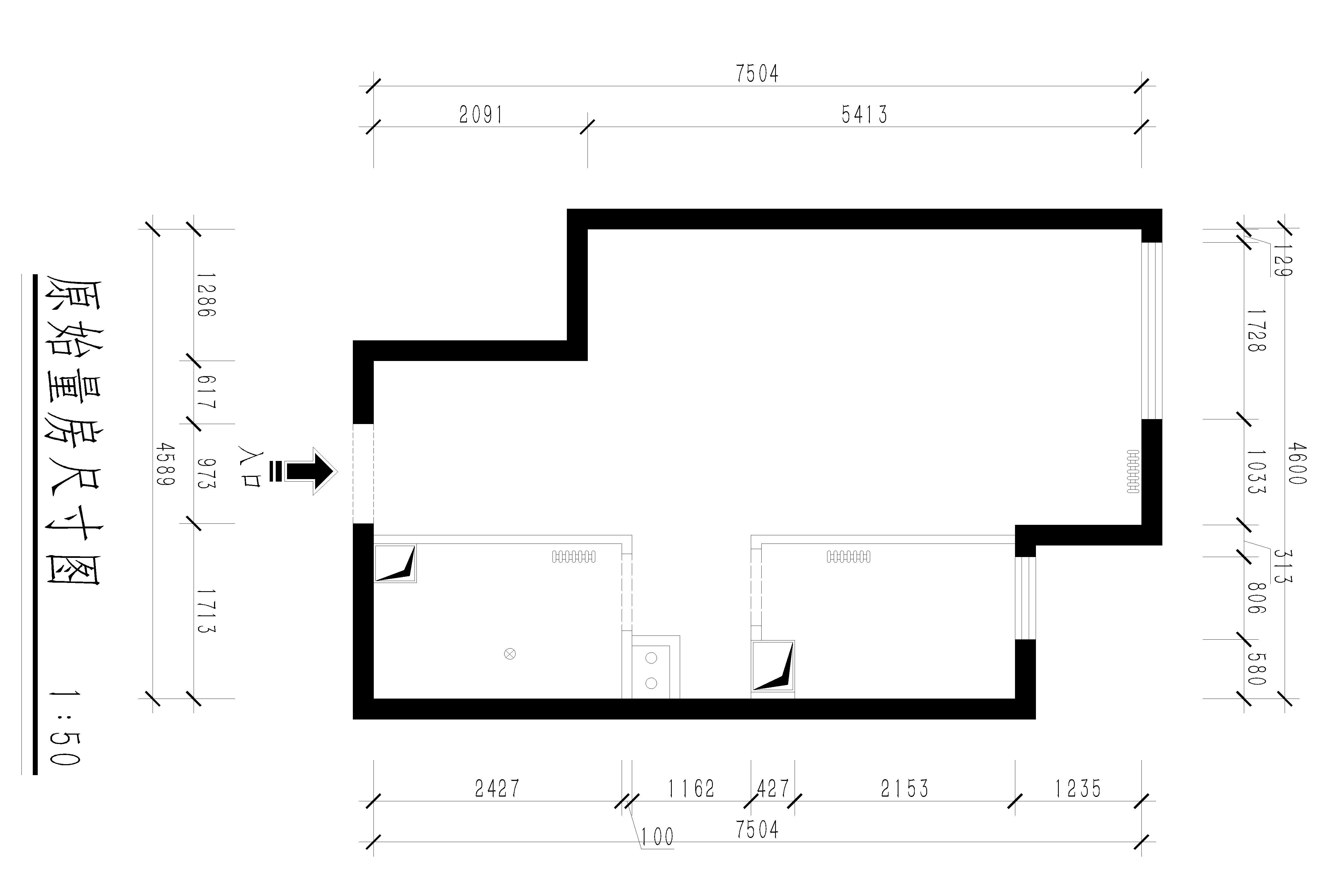 天洋城-68平米-现代波普主义-装修实景图装修设计理念